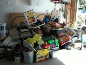 Las Vegas Junk and Haul Garage full of Junk Removal